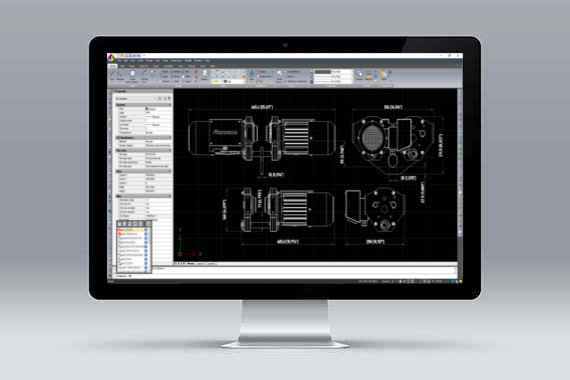 CMS IntelliCAD *.dwg kompatibilný cad software